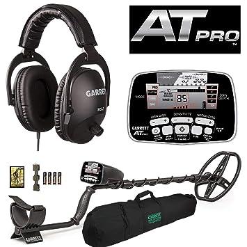 """Garrett AT Pro con MS-2 Auriculares y 50 """"Viaje Bolsa de Transporte"""