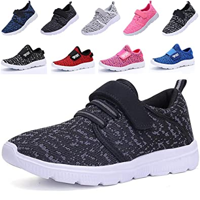 DADAWEN Baby's Boy's Girl's Breathable Strap Light Weight Sneakers Casual Running Shoes Blue US Size 11.5 M Little Kid xszfHr9