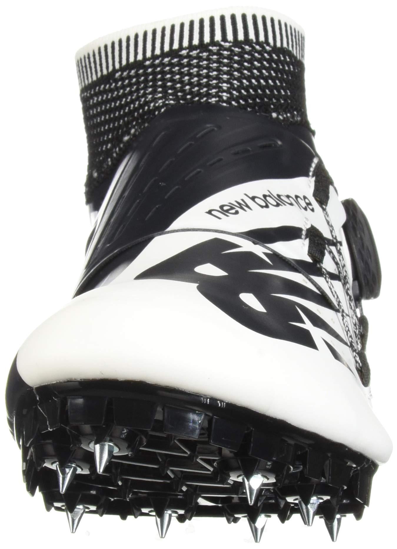 New Balance Men's Sigma V2 Vazee Track Shoe White/Black 4 D US by New Balance (Image #4)