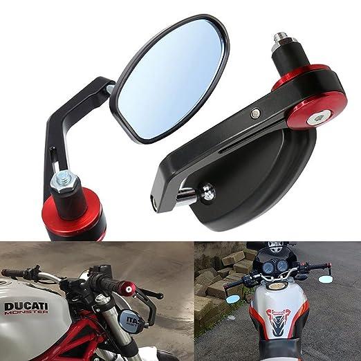 """27 opinioni per ViZe 7/8"""" 22mm Specchietti Moto Retrovisori Specchio Posteriore Universale Per"""