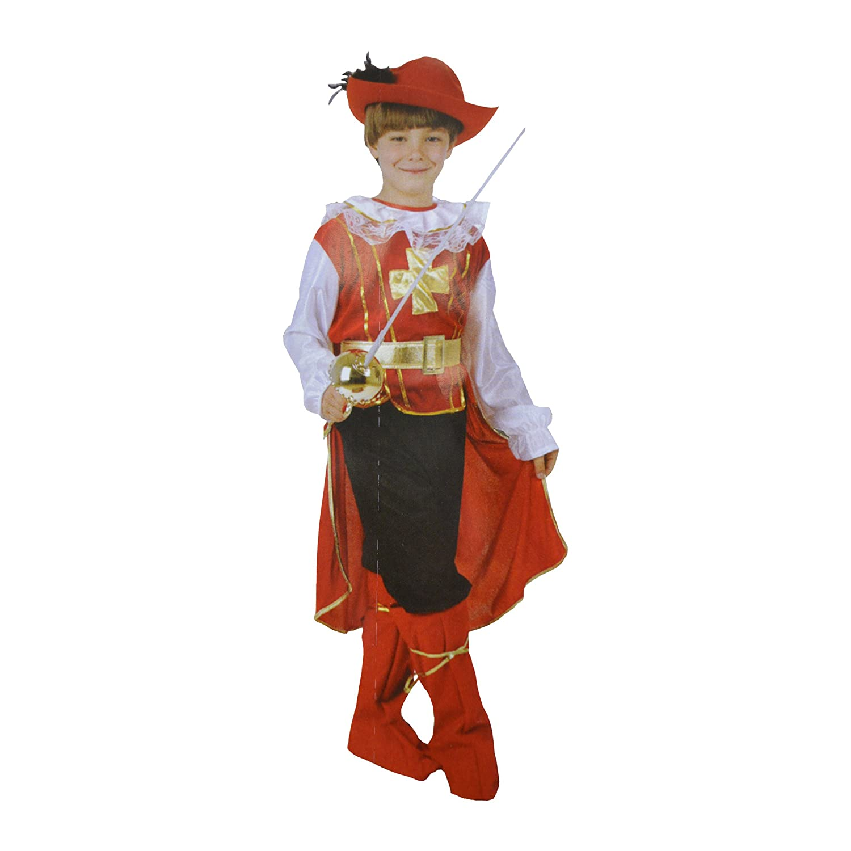 Bermoni Disfraz de Mosquetero (7 a 10 años) (MOSQ-01): Amazon.es ...