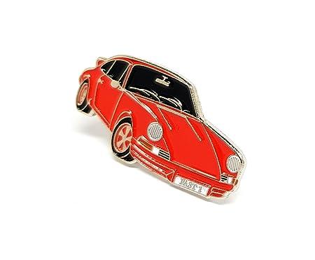 41a4558d41f6 Red Porsche Car Porsche 911 Porch Sports Car Racing Car Metal Enamel Pin  Badge Brooch ...