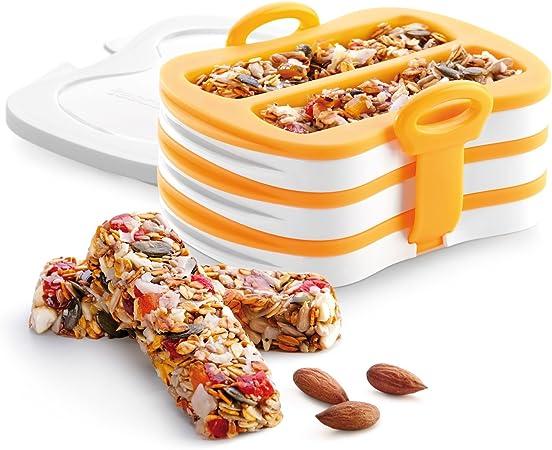 Tescoma mold for energy bars granola bar press