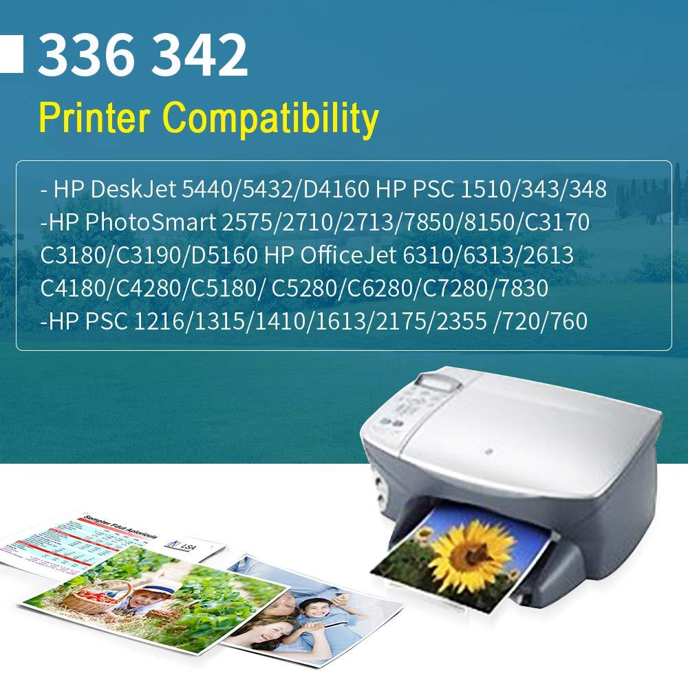 YWSS Remanufacturado Cartucho de Tinta para HP 336 HP336 Alto ...