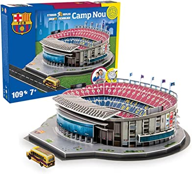 Estadio Camp NOU (FC Barcelona) - Nanostad - Puzzle 3D (Producto ...