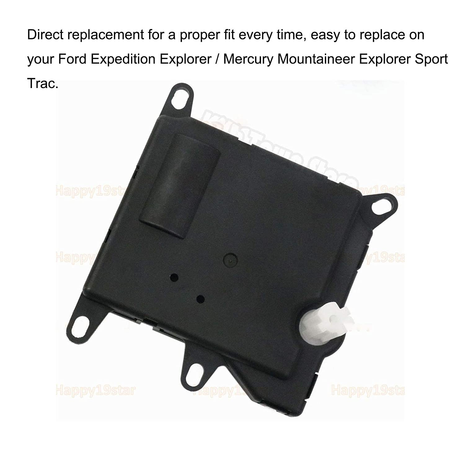 Kunttai 1L2Z19E616CA HVAC Heater Blend Door Actuator YH1744 Fit for Ford Expedition Explorer Sport Trac Mercury Mountaineer