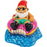 BigMouth Inc Donut Worry Be Happy Garden Gnome