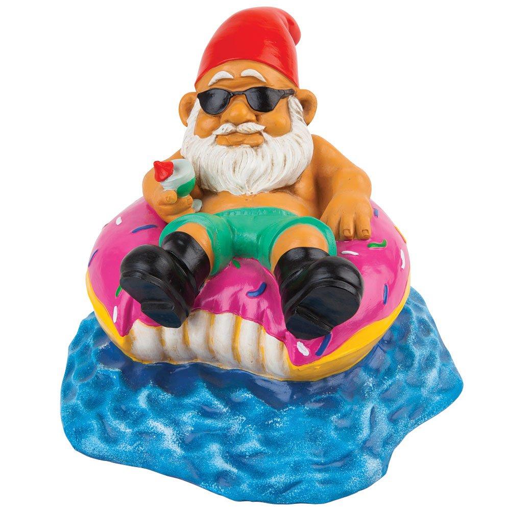 BigMouth Inc Donut Worry Be Happy Garden Gnome Big Mouth Inc. BMGA-DO