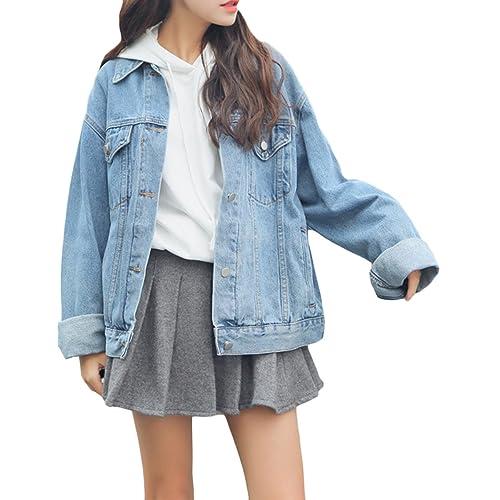 Light Blue Jean Jacket Amazon Com