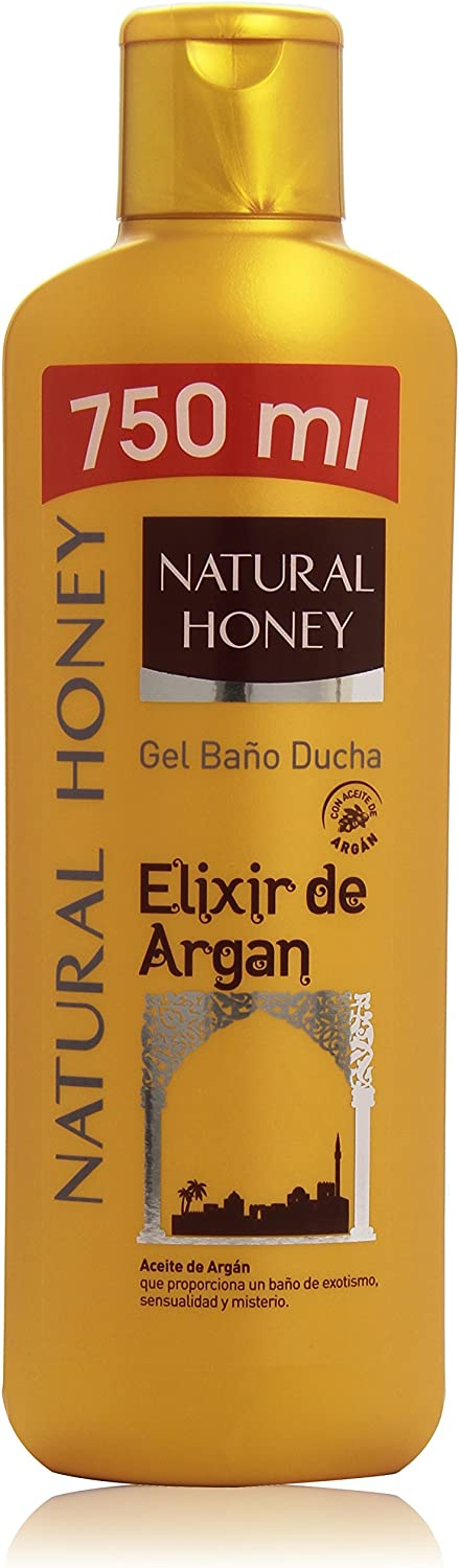Natural Honey - Gel Baño Ducha Elixir De Argán 750 ml