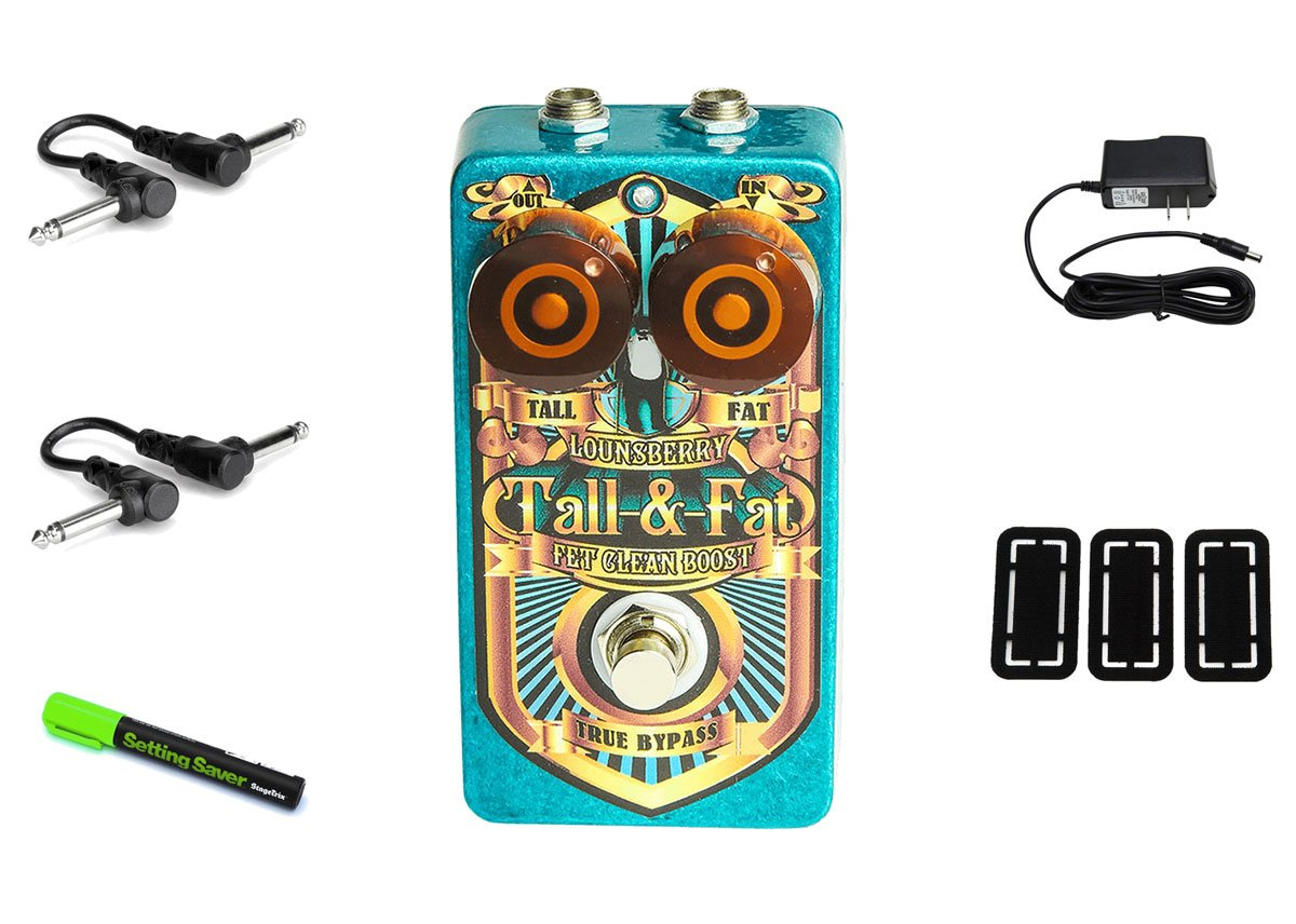 Lounsberry Pedals Tall & Fat Preamp PRYMAXE PEDAL BUNDLE by Lounsberry Pedals