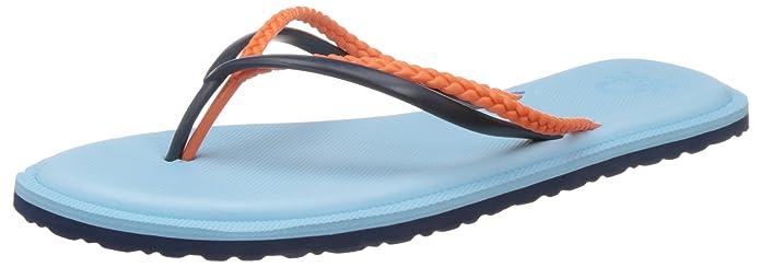 United Colors of Benetton Women's Flip-Flops and House Slippers Flip-Flops & House Slippers at amazon