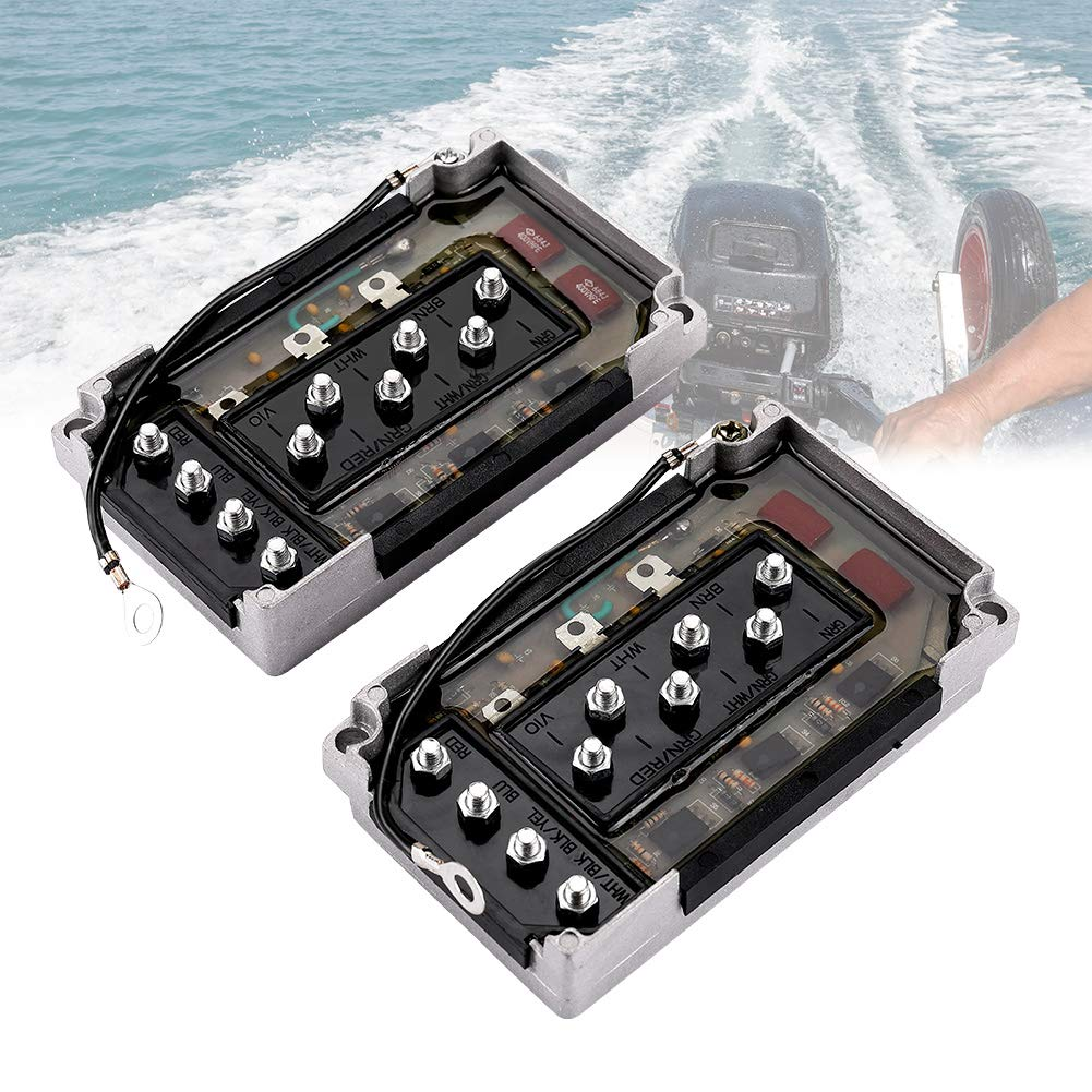 CDI Switch Box 2pcs Compatible with 50-275 HP Mercury Outboard Motor Power Pack 332-7778 18-5775
