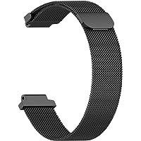 Stainless Steel Strap For Garmin Forerunner 220/230/235/620/630/735 Watch Bands(Black)
