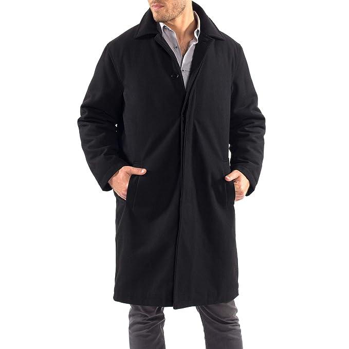 Amazon.com: alpine swiss Zach - Abrigo de lana para hombre ...