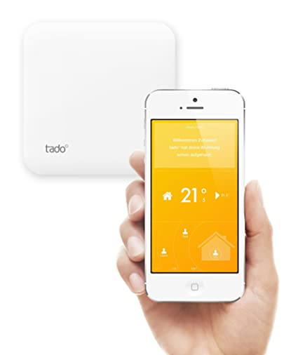 Tado - Aplicación para controlar la calefacción, con kit de conectores