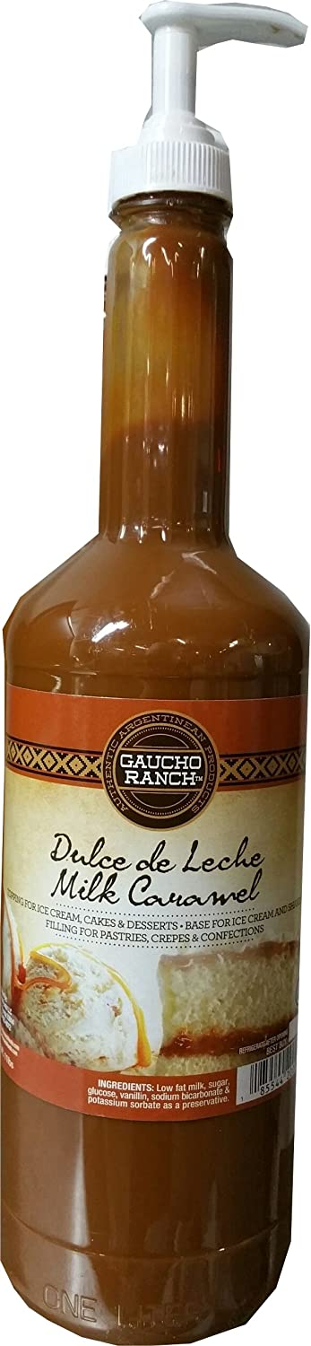 Amazon.com : DULCE DE LECHE, SYRUP PUMP, 1 LITER : Grocery & Gourmet Food