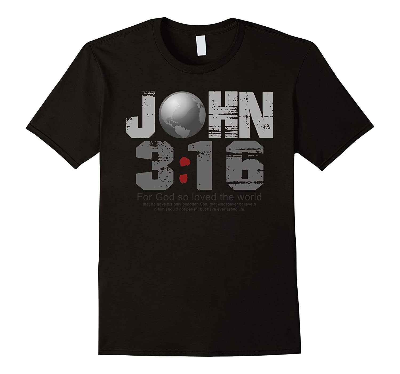 John 316 World T-Shirt-TH