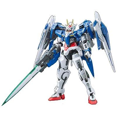 """Bandai Hobby Real Grade 1/144-Scale 00 Raiser Gundam 00"""" Action Figure: Toys & Games"""