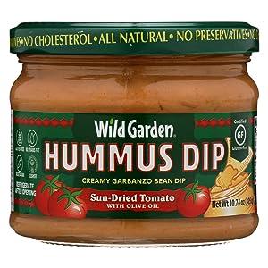 Wild Garden Hummus, Sun Dried Tomato, 10.74 Ounce (Pack of 6)