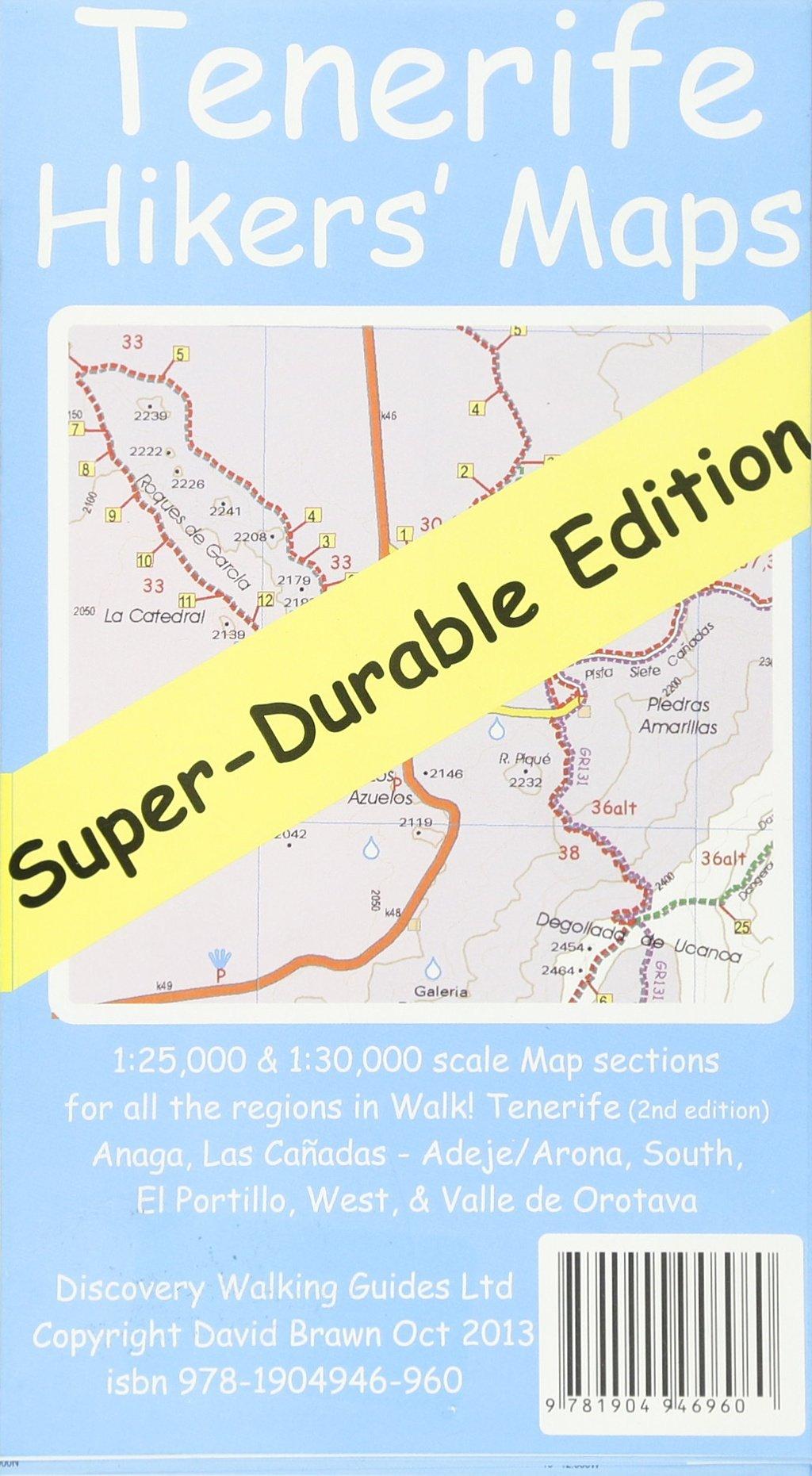 Tenerife Hikers\' Super-Durable Maps: Amazon.de: Ros Brawn ...