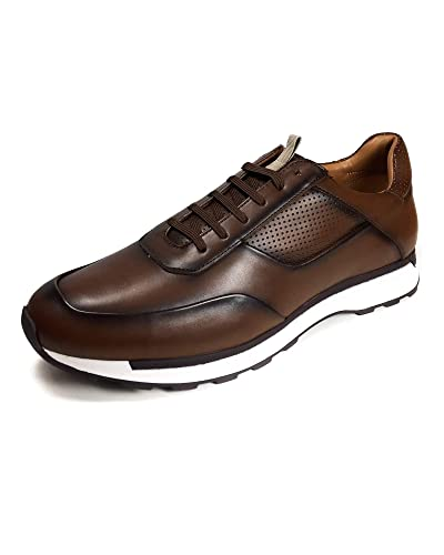 6cc1ad9d Amazon.com: Zara Men Brown Retro Sneakers 5213/302: Shoes