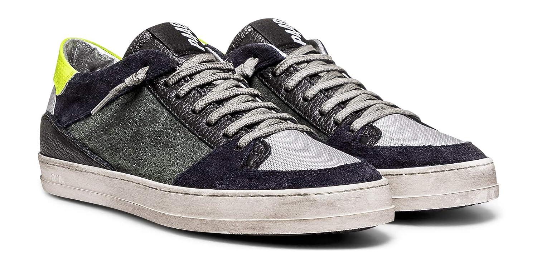 P448 Mens Queens Italian Leather Willow Sneaker
