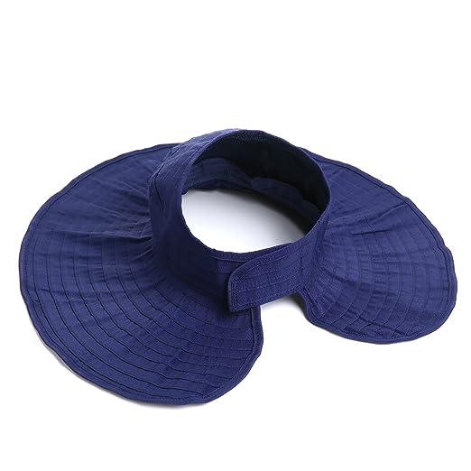 ced2ff4213ba9 Fantasy Life Sun Caps Women Sun Hats UPF 50+ Packable Crushable Roll up  Wide Brim