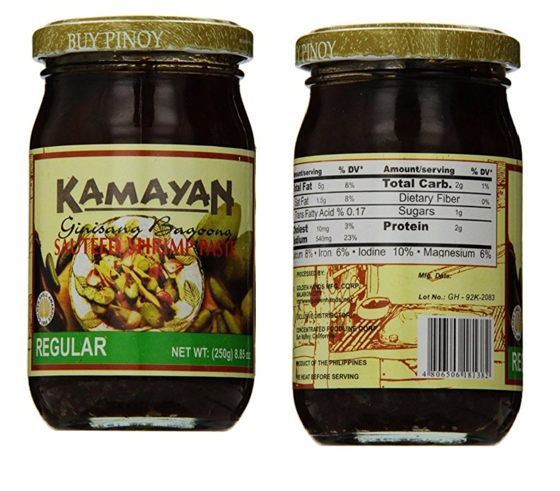Kamayan Sauteed Shrimp Paste, Regular, 8.8 Ounce, 2 counts by World Food Mission (Image #2)