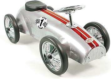 Vilac Vilac1109 Ride On Car Silver grey