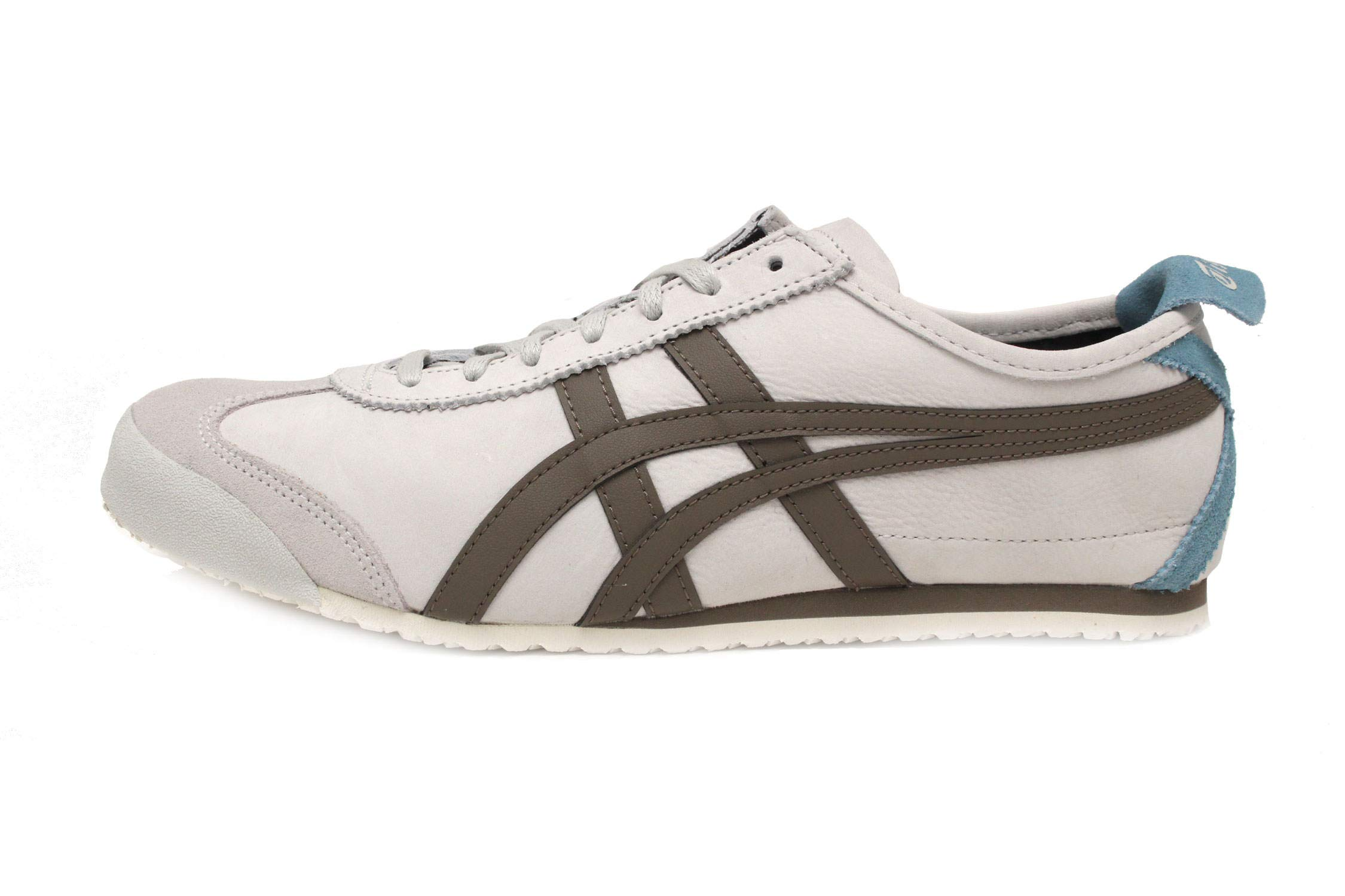 separation shoes 16eb8 bb0ed Onitsuka Tiger Unisex Mexico 66 Shoes 1183A148, Glacier Grey/Dark Taupe, 11  M US