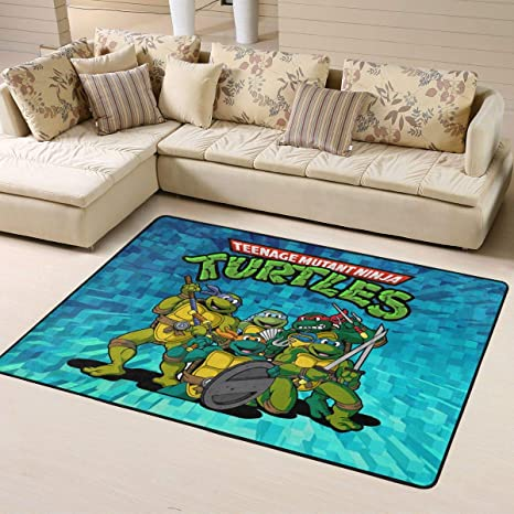 Amazon.com: 3D Teenage Mutant Ninja Turtles Living Room Area ...