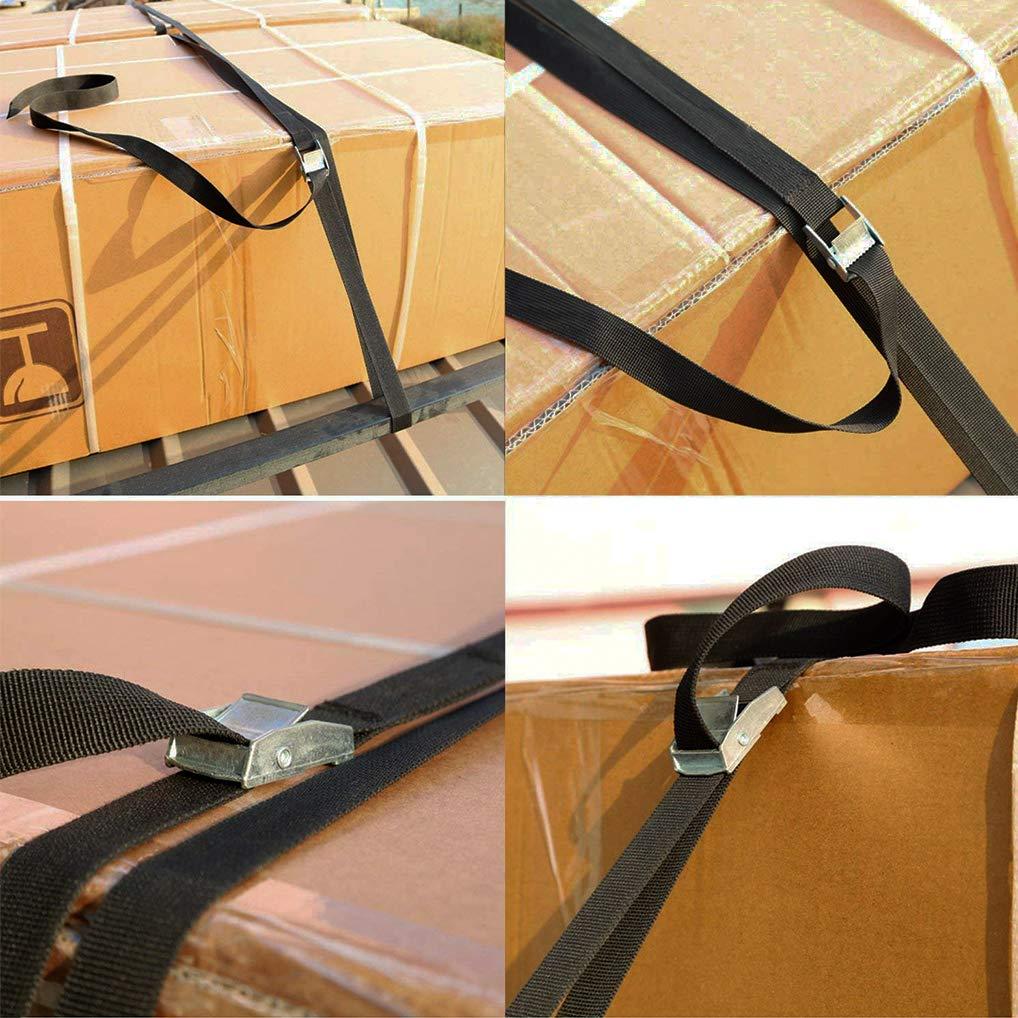 per moto auto fibbia di serraggio porta bicicletta Kit di fissaggio con cinghia di serraggio 10 pezzi