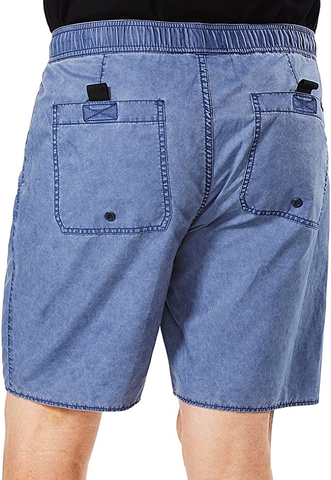FASUWAVE Mens Swim Trunks Indian Skull Chief Quick Dry Beach Board Shorts with Mesh Lining