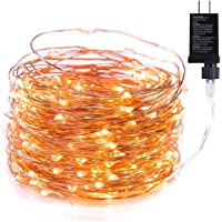 Amazon Price History for:Minetom Fairy Lights Plug in, 40Ft 120 Led Waterproof Firefly Lights on Copper Wire UL Adaptor Included, Starry String…