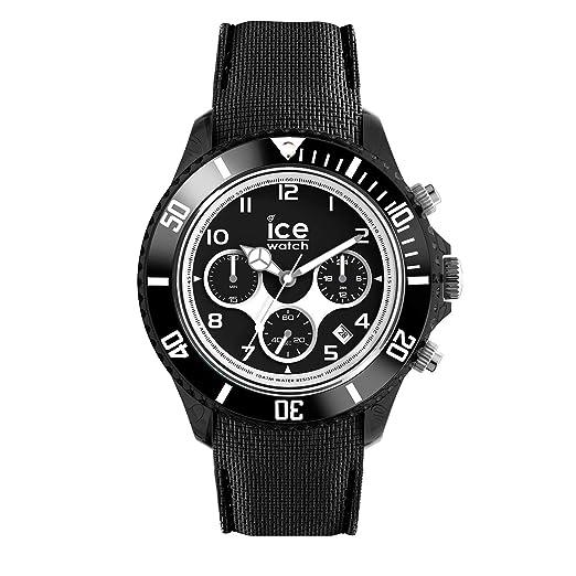 Ice-Watch - ICE dune Black - Reloj nero para Hombre con Correa de silicona
