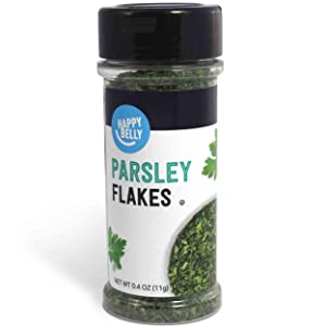 Amazon Brand - Happy Belly Parsley Flakes, 0.4 Ounces