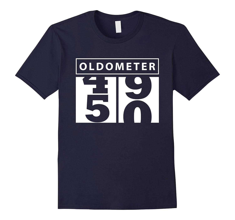 3e5e310c8 Funny 50th Oldometer Birthday T Shirt-RT – Rateeshirt