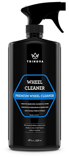 TriNova Wheel Cleaner Rim Cleaning Spray