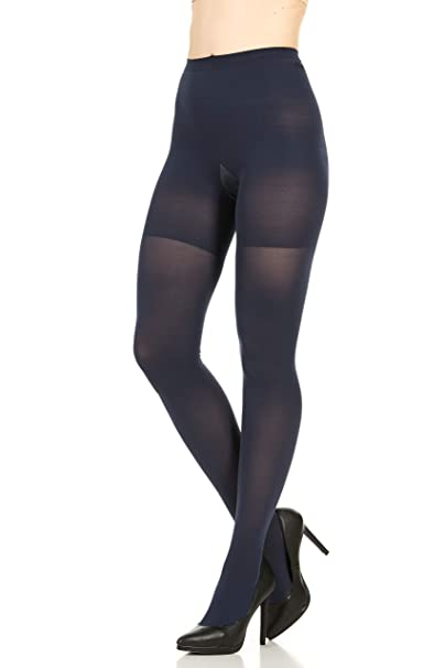 985f06e612d7d Star Power by Spanx Shaping Tights Plus Navy F: Amazon.co.uk: Clothing