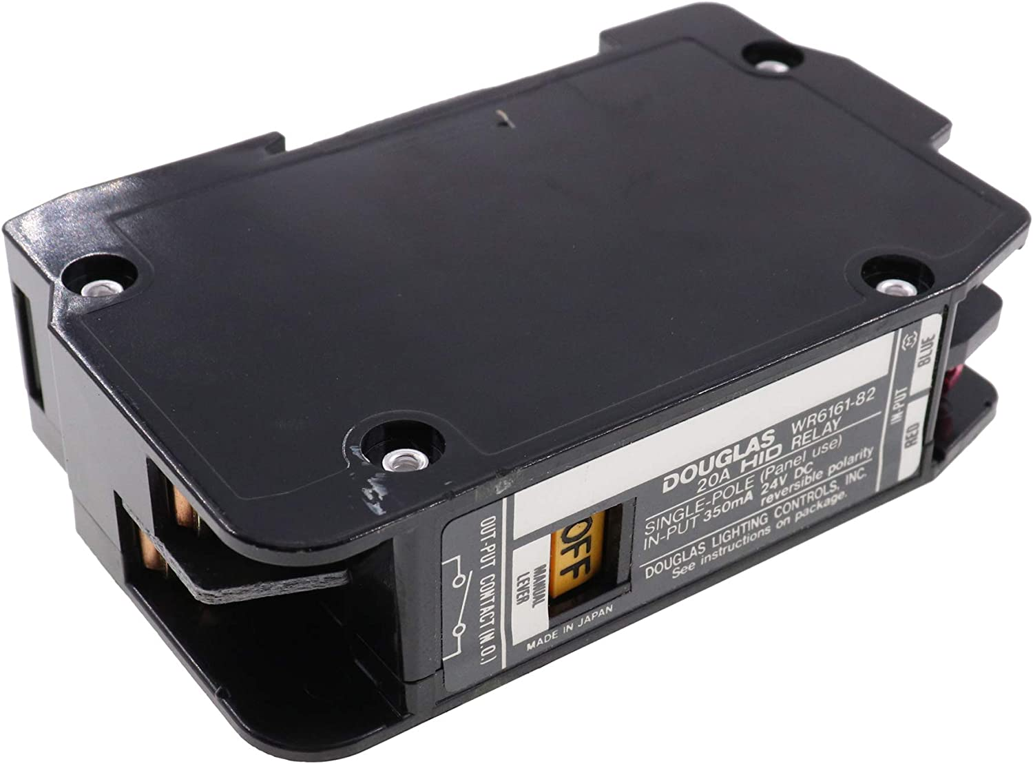 DOUGLAS WR6161K-82  20A HID RELAY  SINGLE POLE