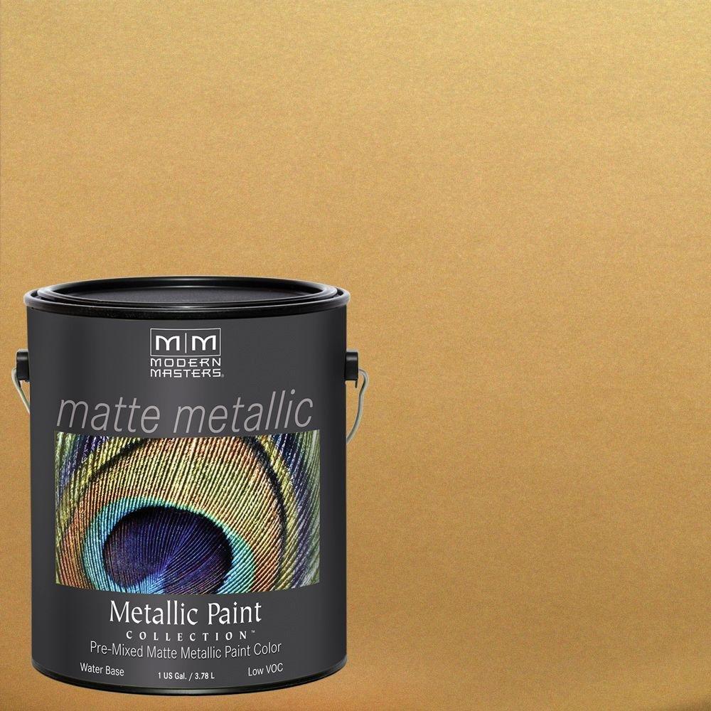 Amazon.com: Modern Masters MM591 Matte Metallic Paint, Platinum ...