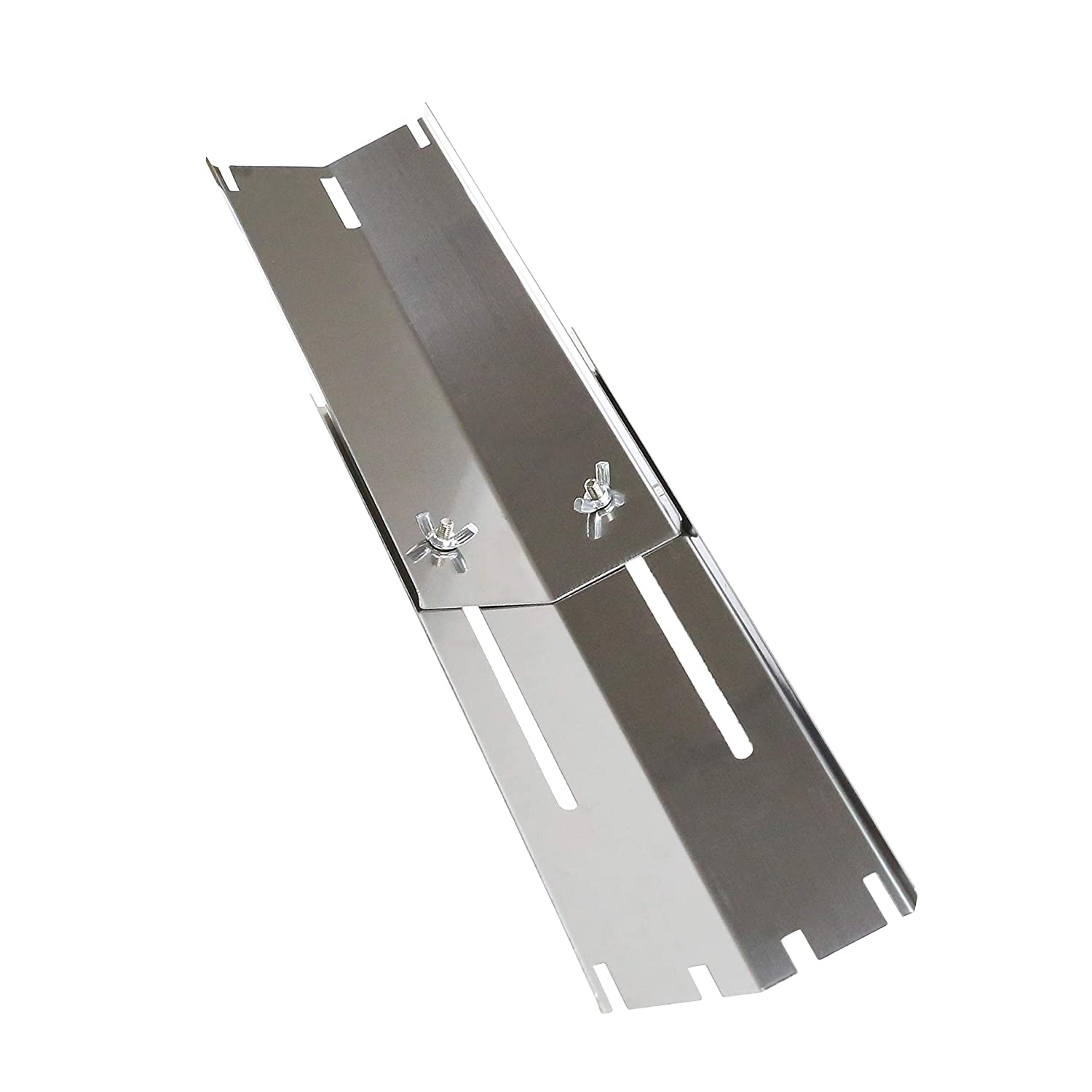 810-2511-S Heat Plates /& Crossover Tubes Replacement Parts for Brinkmann 5 Burner Grill Models 810-3660-S 810-4580-S 810-1750-S Hisencn Stainless Steel Adjustable Grill Burners