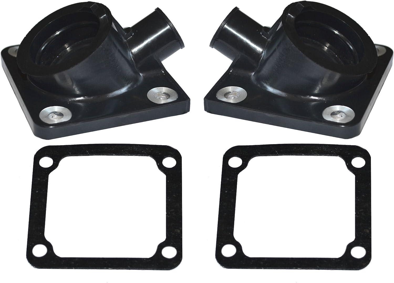 Affordable Parts New Carburetor Intake Manifold Boot /&Gaskets for Yamaha Banshee 350 YFZ350 1987-2006