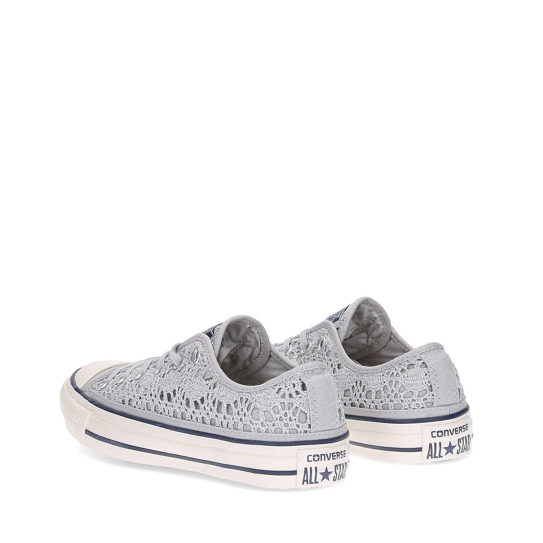 Taylor Donna Star Chuck Metallic Converse Crochet Sneachers All vb6Yyf7g