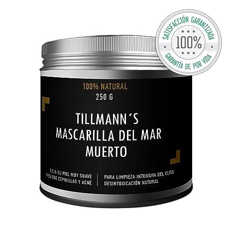 Tillmanns® Crema Hidratante Facial Del Mar Muerto 250g - Crema Antiedad - Mascarilla Antienvejecimiento Y Rejuvenecedora Facial Y Corporal - Prevenir ...