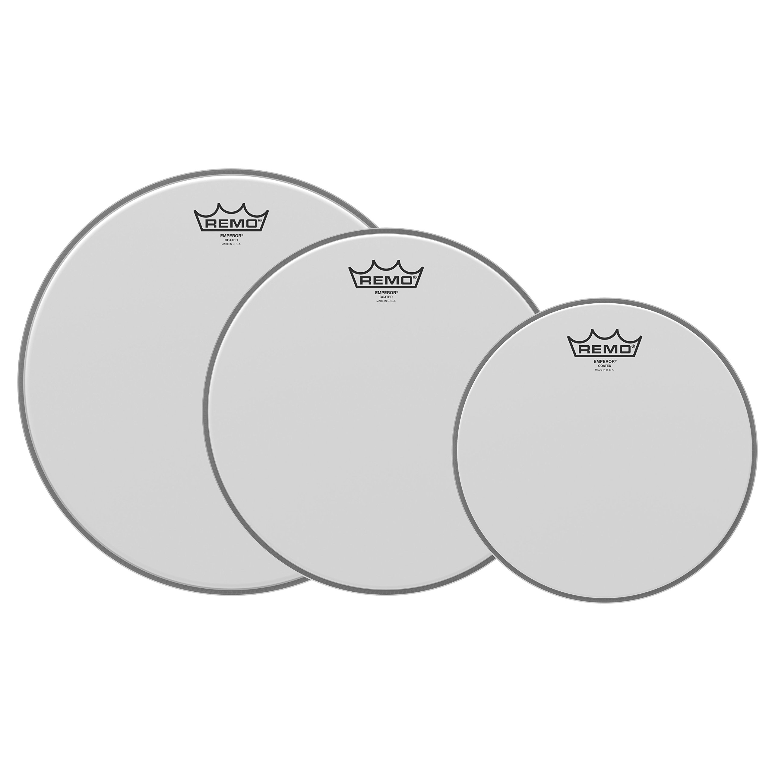 Remo PP-0960-BE Emperor Coated Tom Drumhead Pack - 10'', 12'' & 14''