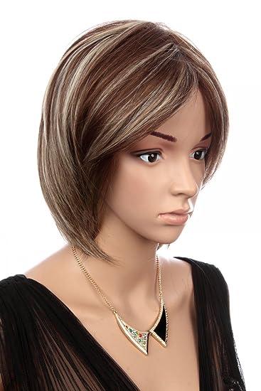 Conosciuto Prettyland C1488 - parrucca capelli corti 30cm capelli lisci  HE39