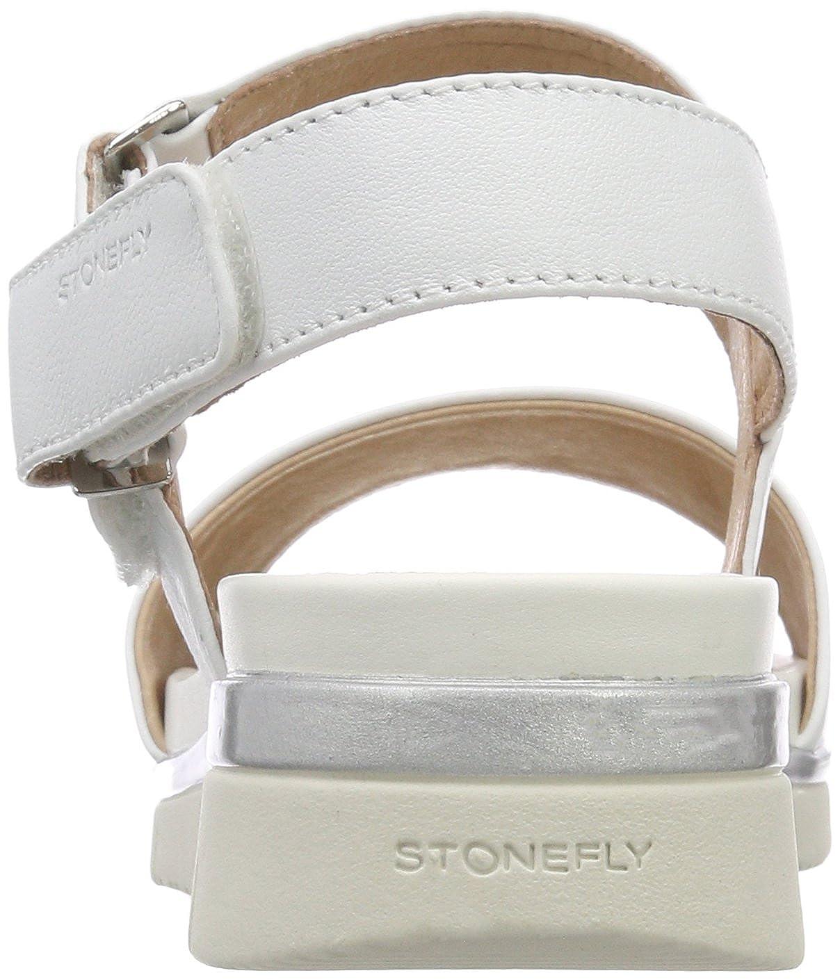 Stonefly Elody Elody Elody 5 Nappa, Sandali con Cinturino alla Caviglia Donna  Avorio (Cloud White 150) d25018