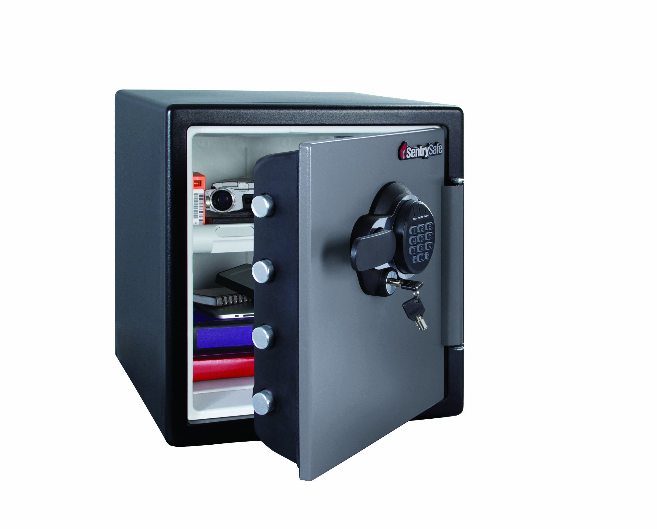 Sentry Safe SFW123GTC 34.8L Capacity Fire/ Water Resistant Electronic and Key Safe with 1hr Resistance by SentrySafe